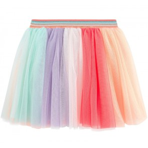 Billieblush kids girls tule rok met glitterband in de kleur multicolor