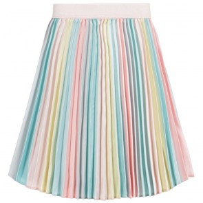 Billieblush kids girls pliseé rok met pasteltinten in de kleur multicolor