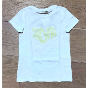 Circle of trust girls Rosa tee Jadore in de kleur wit