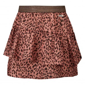 Retour jeans kids girls Lana rok met panterprint in de kleur old pink