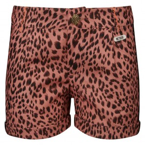 Retour jeans kids girls Lois soepele short met panterprint in de kleur old pink