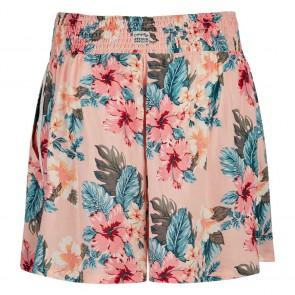 Retour jeans kids girls Nicolette soepele short met flower print in de kleur zachtroze