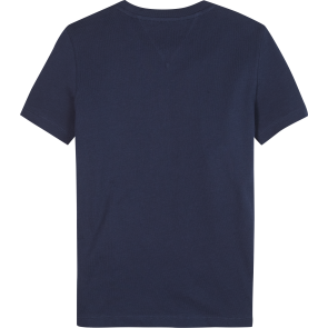 Tommy Hilfiger kids boys photoprint t-shirt tee shirt in de kleur donkerblauw