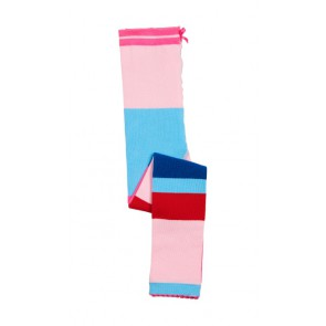 Le big fijngebreide legging met brede banen in de kleur multicolor