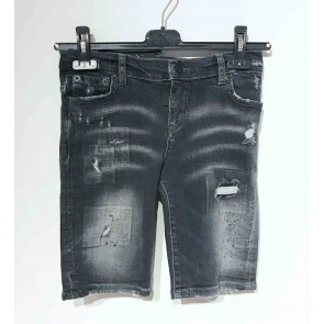 My Brand junior korte jeans broek short in de kleur grey faded grijs