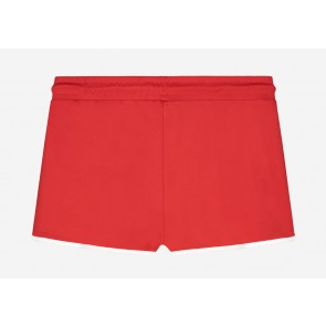 Nik en Nik girls Lena shorts in de kleur poppy red rood