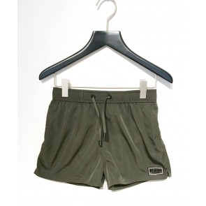 My Brand junior boys exclusive swimpants zwembroek in de kleur army green groen