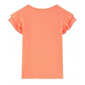 Billieblush Cool Siesta met sombrero hoed t-shirt in de kleur neon oranje