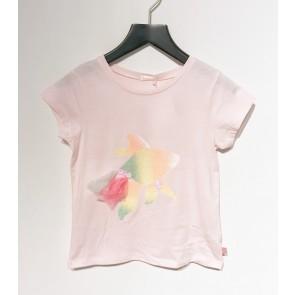 Billieblush girls-t-shirt met vis in de kleur zachtroze