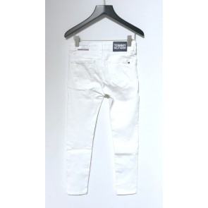 Tommy Hilfiger kids girls nora skinny jeans broek in de kleur wit