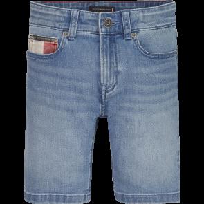 Tommy Hilfiger kids boys korte jeans steve short broek in de kleur jeansblauw