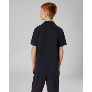 CP Company kids junior polo shirt met mini logo in de kleur zwart
