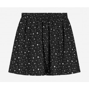 Tommy Hilfiger kids girls galaxy cissy skirt in de kleur zwart/wit