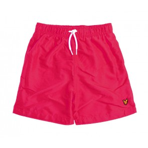 Lyle and Scott junior swimshorts zwembroek in de kleur rood