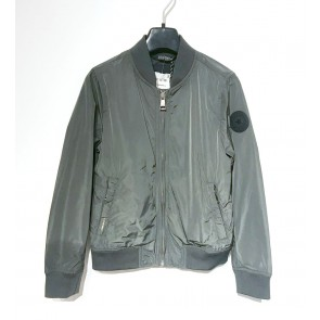 Airforce kids bomber jacket in de kleur gun metal grijs/groen