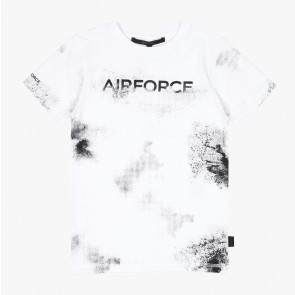 Airforce kids faded airforce t-shirt in de kleur wit