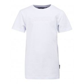 Airforce kids outline emboss t-shirt in de kleur wit