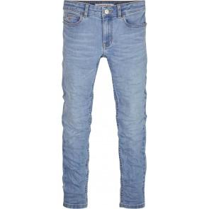 Calvin Klein kids girls jeans broek skinny mid rise in de kleur jeansblauw