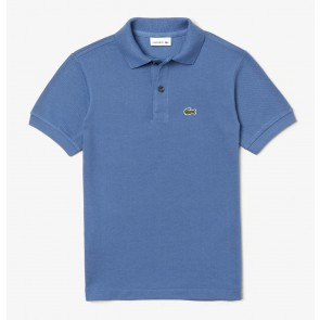 Lacoste kids boys polo t-shirt in de kleur blauw