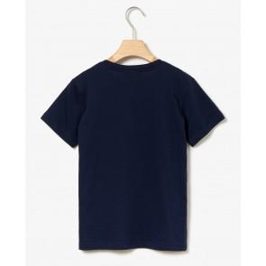 Lacoste kids boys t-shirt in de kleur donkerblauw