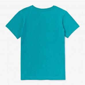 Lacoste kids boys t-shirt in de kleur zeegroen
