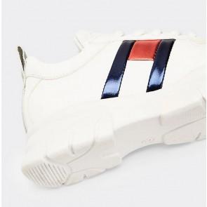 Tommy Hilfiger kids girls chunky sneaker in de kleur wit