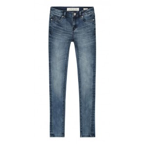 Circle of trust girls poppy denim jeans light destructed in de kleur jeansblauw