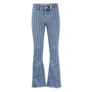 Retour jeans denim deluxe striped flared broek Tiarra in de kleur jeansblauw