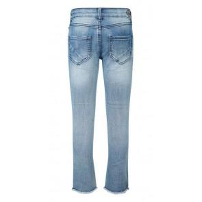 Retour jeans denim deluxe flared broek Yolanthe in de kleur jeansblauw
