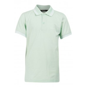 Airforce kids pique polo shirt in de kleur mintgroen