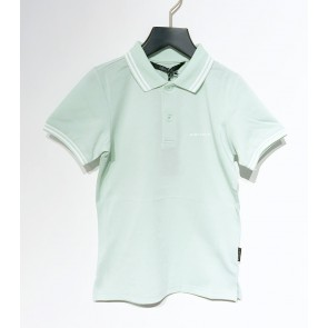 Airforce kids boys polo shirt elastic pique in de kleur mintgroen