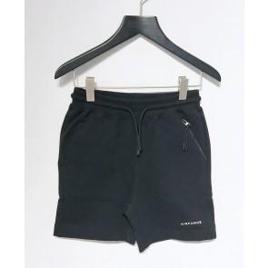 Airforce kids boys korte broek met sweatshort in de kleur zwart