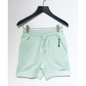 Airforce kids boys korte sweat broek sweatshort in de kleur mintgroen