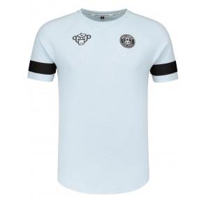Black Bananas kids the FC tee t-shirt in de kleur lichtblauw