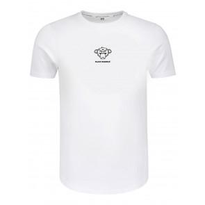 Black Bananas kids the basic monkey pequeno tee t-shirt in de kleur off white