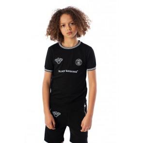 Black Bananas kids the FC luxury tee t-shirt in de kleur zwart