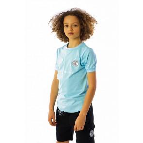 Black Bananas kids the FC luxury tee t-shirt in de kleur lichtblauw