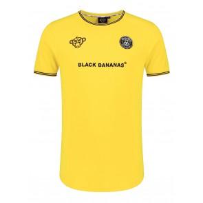 Black Bananas kids the FC luxury tee t-shirt in de kleur geel