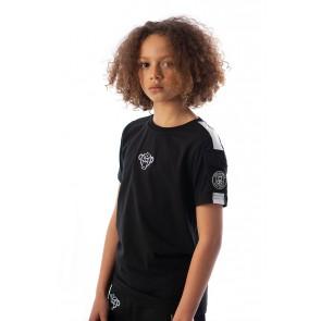 Black Bananas kids the pocket tee t-shirt in de kleur zwart
