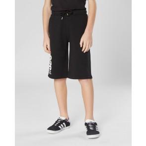 CP Company kids junior korte sweatbroek 020 in de kleur zwart