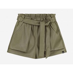 Nik en Nik girls fardou shorts korte broek utility green groen