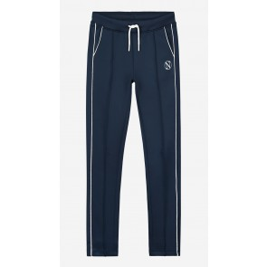 Nik en Nik kids girls sweatpants Laura track pant in de kleur royal blue blauw