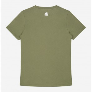 Nik en Nik kids girls N t-shirt in de kleur utility green groen
