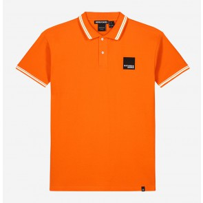 Nik en Nik kids boys polo shirt Kiron in de kleur tiger orange oranje