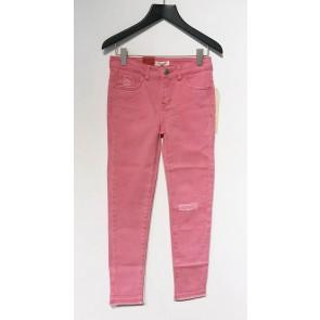 Levi's kids girls super skinny jeans broek 710 in de kleur roze