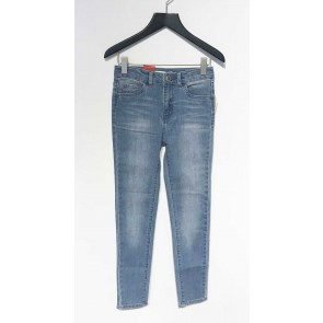 Levi's kids girls high rise super skinny jeans broek 720 in de kleur jeansblauw