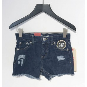 Levi's kids girls korte broek shorty shorts new fit in de kleur jeansblauw