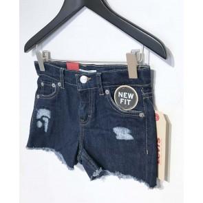 Levi's kids girls korte broek shorty shorts new fit in de kleur jeansblauw