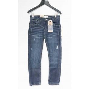 Levi's kids boys skinny jeans performance broek in de kleur jeansblauw