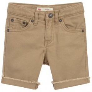 Levi's kids boys denim shorts korte broek 511 in de kleur zand